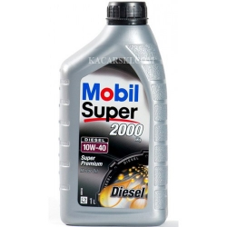 MOBIL SUPER TURBO DIESEL 2000 10W40 1L